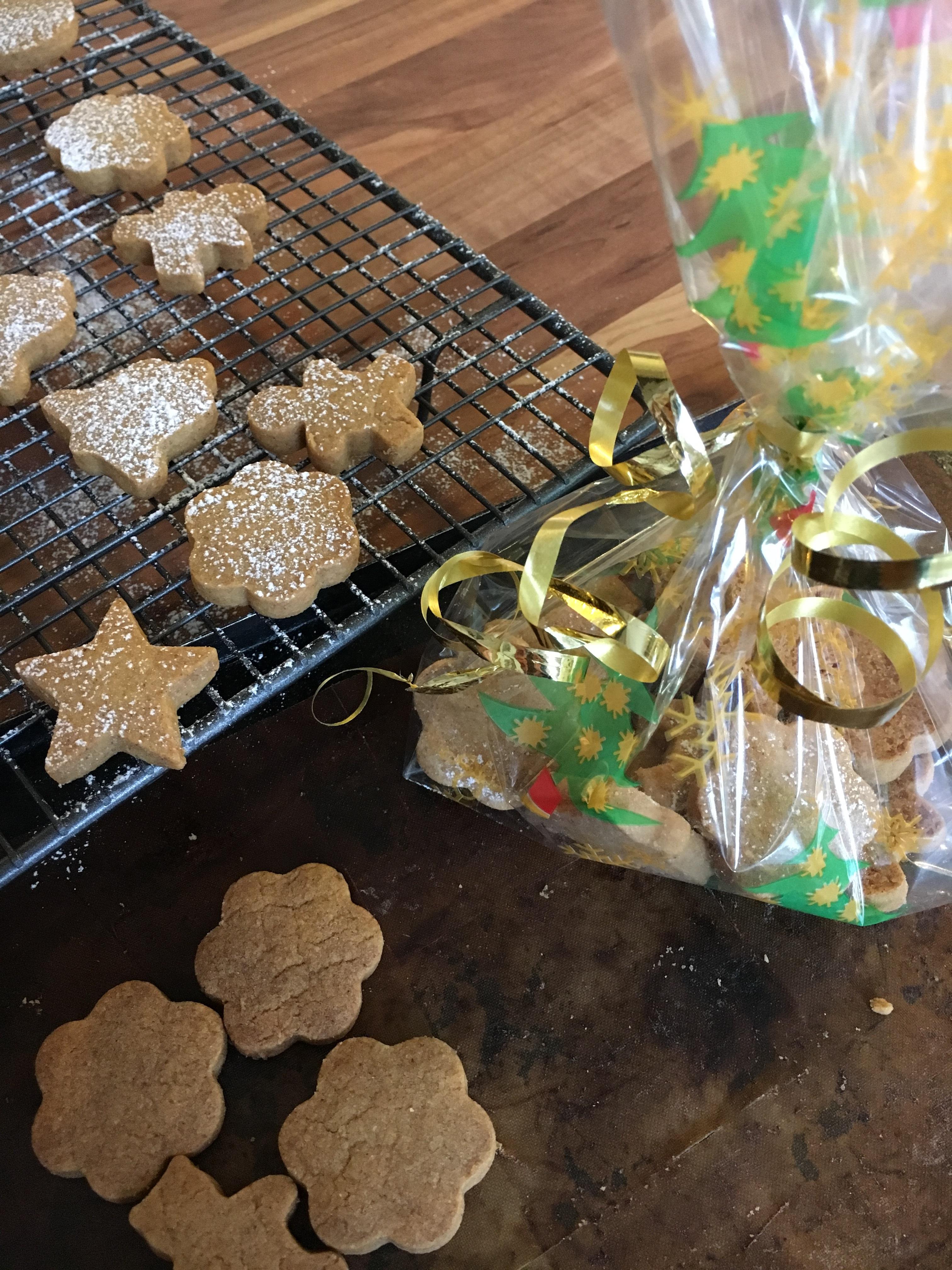 Nancy's Spiced Christmas Shortbreads