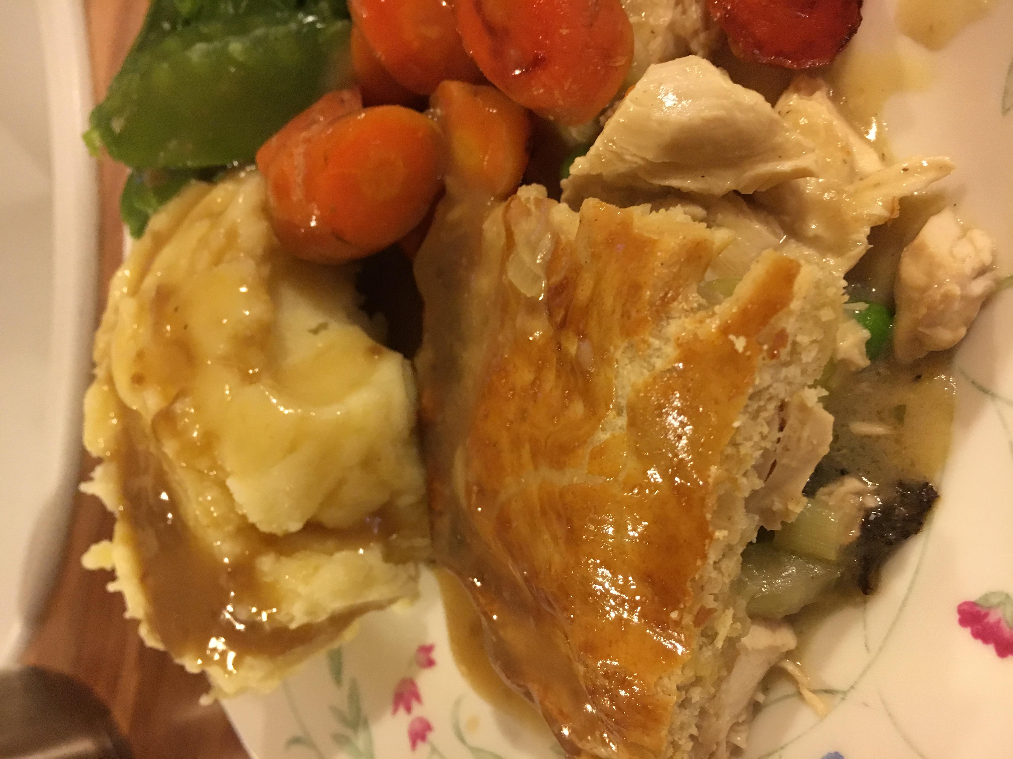 Chicken and Tarragon Pie