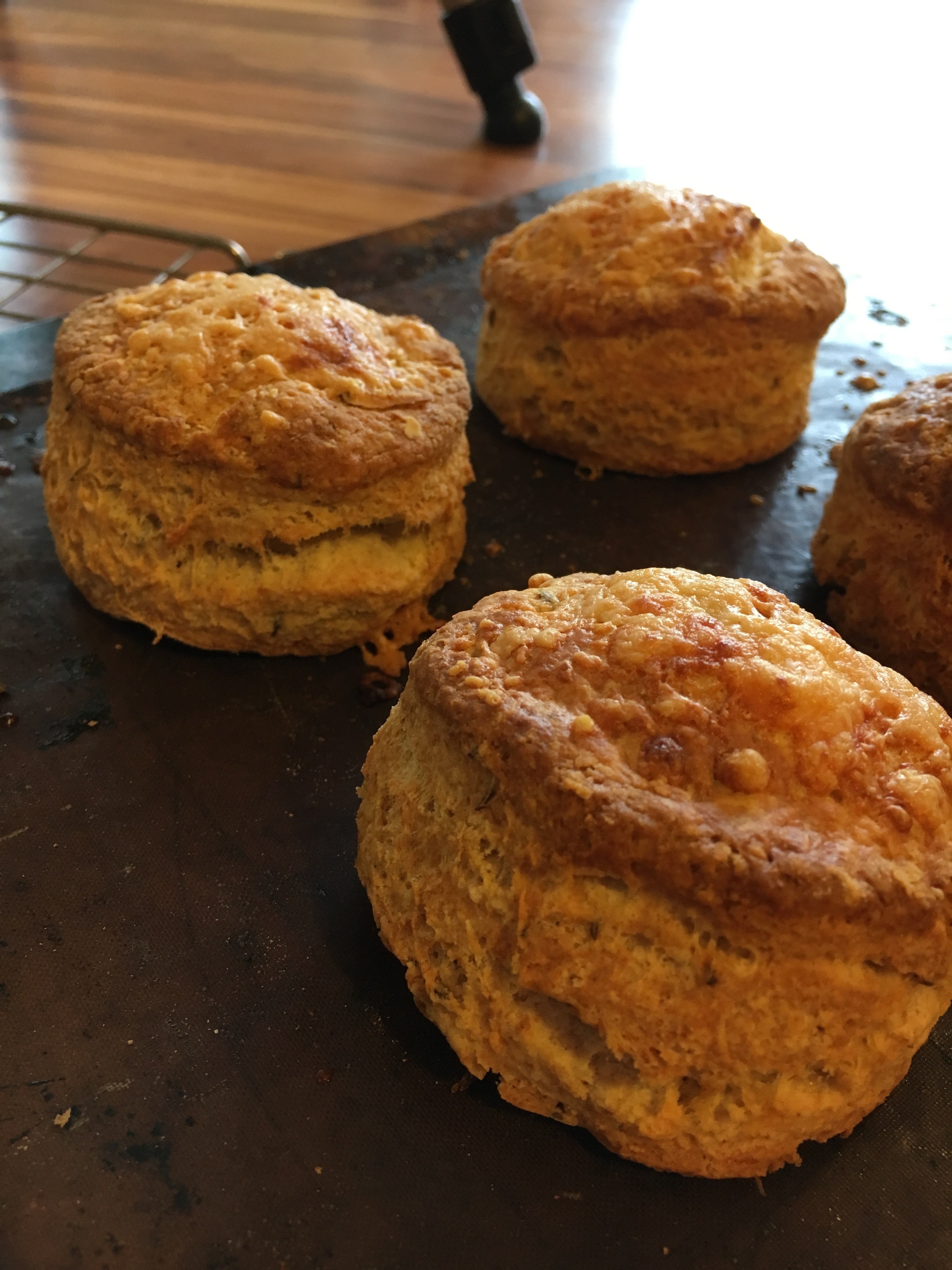Cheese and Caraway Scones
