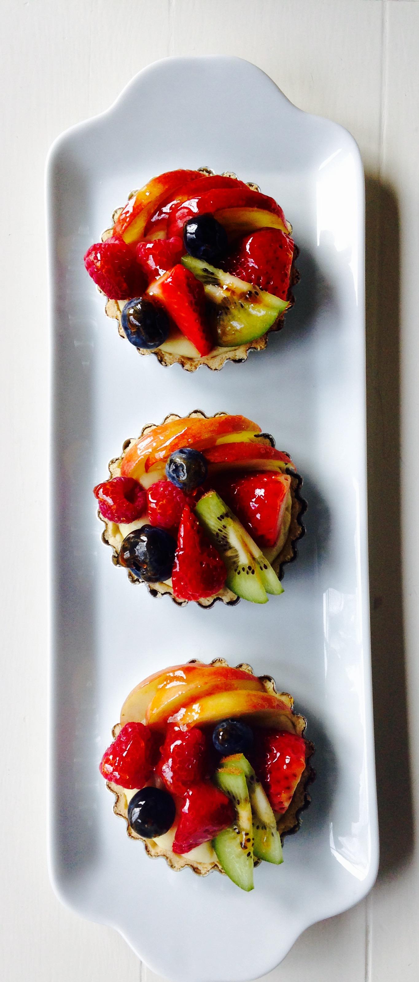 Open Fruit Tarts