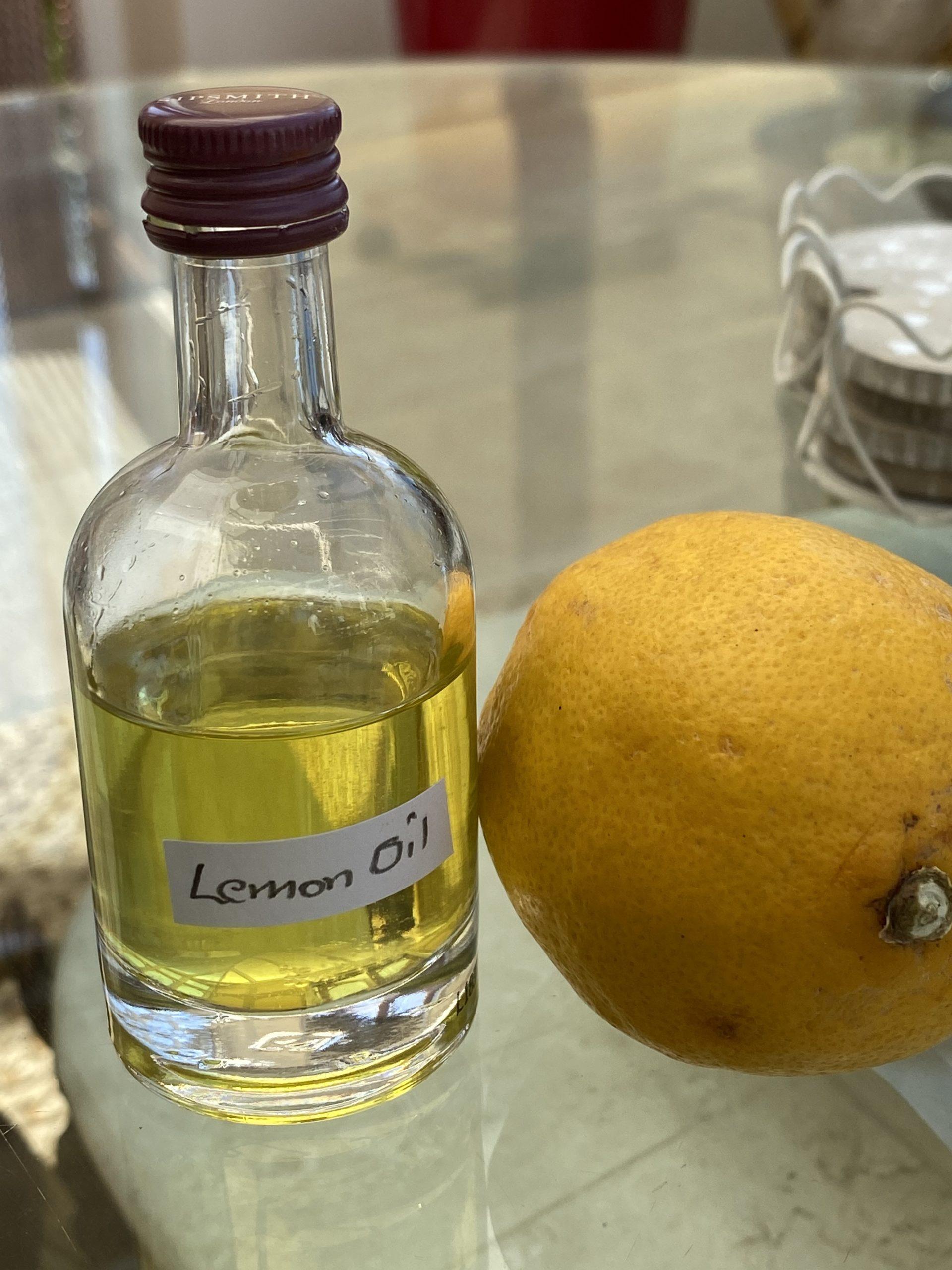 Lemon Infused Oil