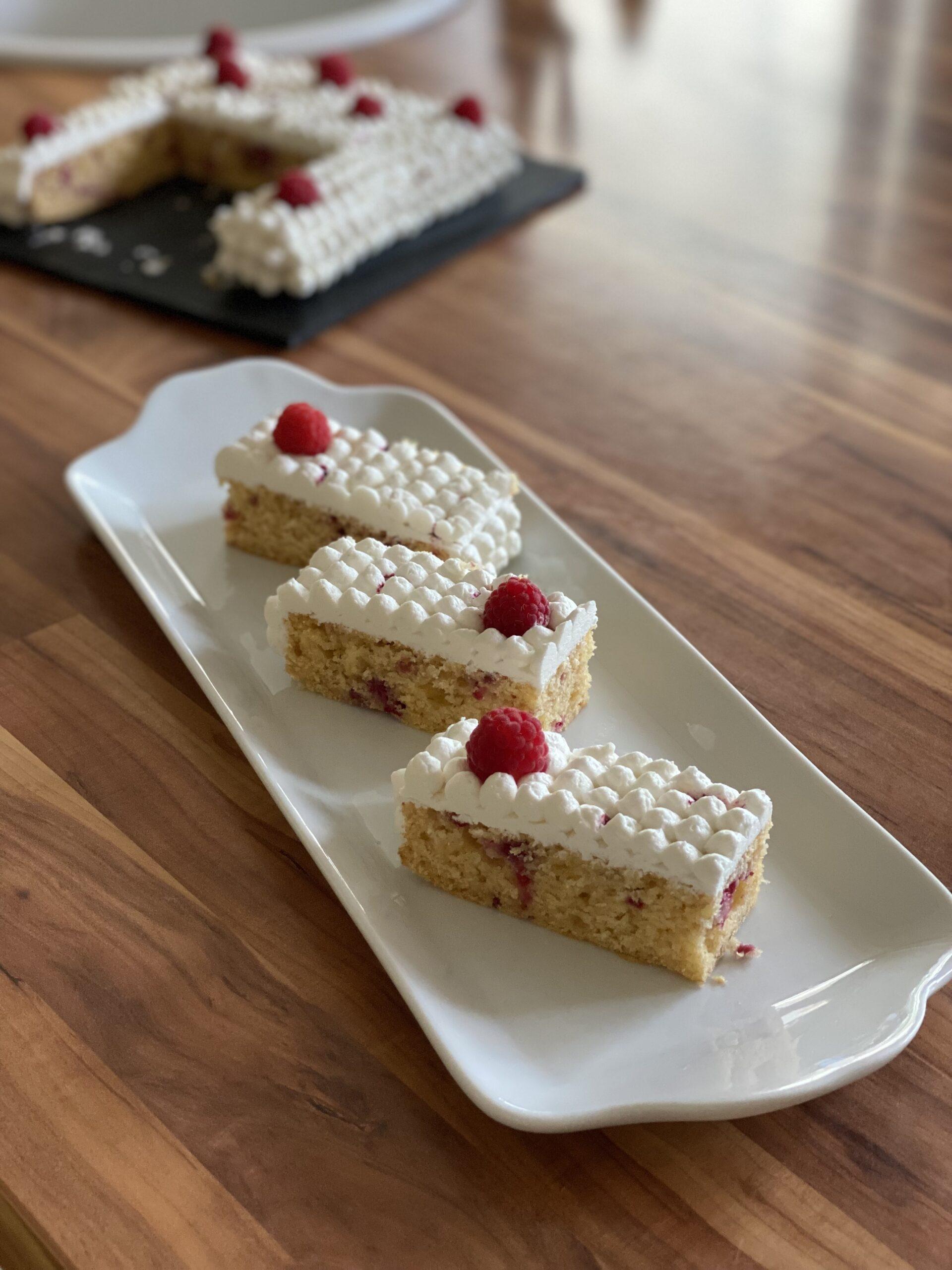 Raspberry Ripple Slices (Vegan)